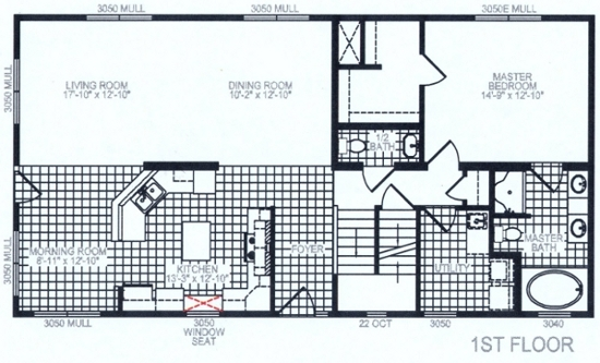 Tulip 1 Floor Plan