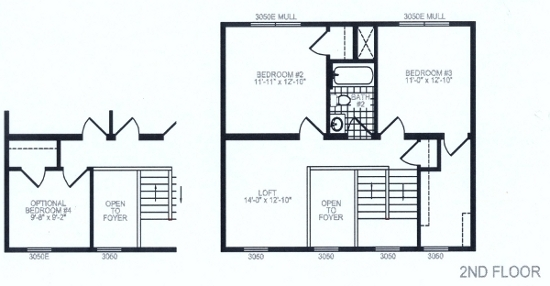 Tulip 2 Floor Plan