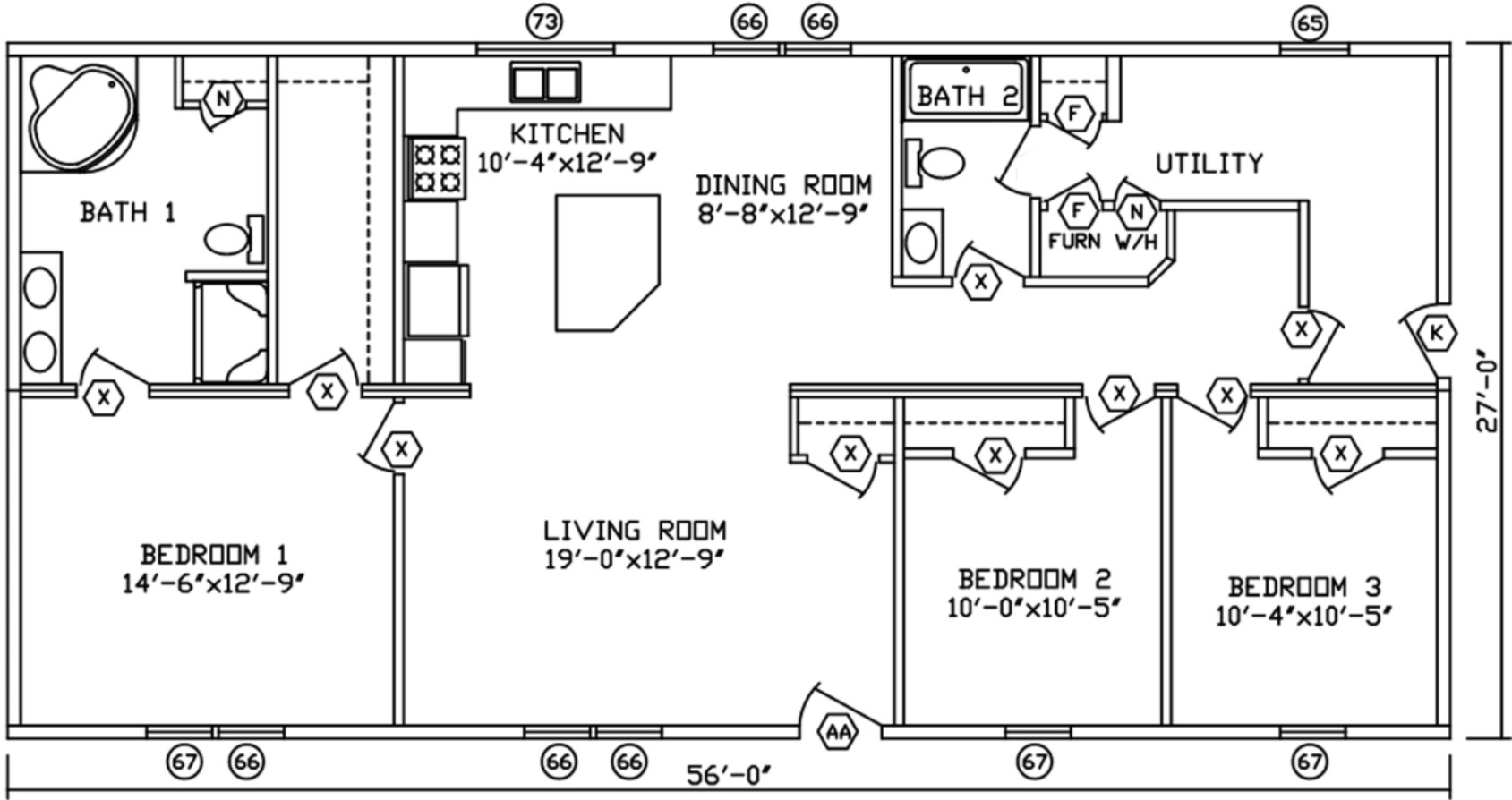 Homes By Stoddard 39 S Fairmont Model 92574