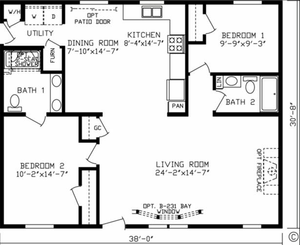 Homes By Stoddard 39 S Fairmont Model 92700rk