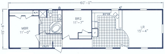 Holly Park Single Floor Plan